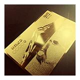 金箔クオカード印刷企業ノベルティ人気